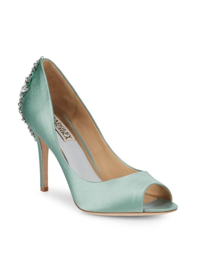 Badgley Mischka Nilla Embellished Stiletto Pumps