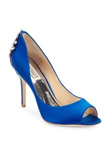 Badgley Mischka Nilla Peep Toe Pumps