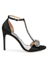 Badgley Mischka Pascale Crystal Embellished Sandals