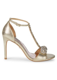 Badgley Mischka Pascale II Embellished Sandals