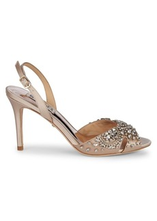 Badgley Mischka Paula Embellished Sandals