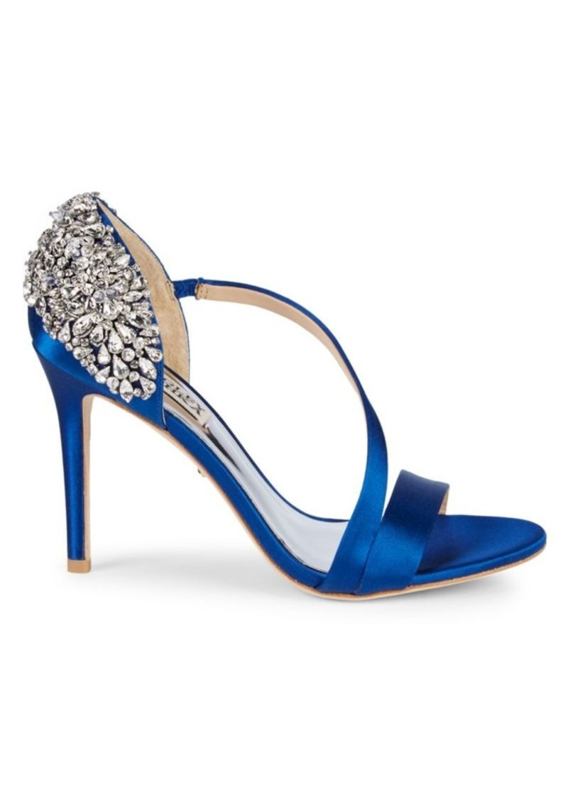 Badgley Mischka Pauline Embellished d'Orsay Stiletto Sandals