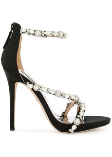 Badgley Mischka Quest embellished sandals