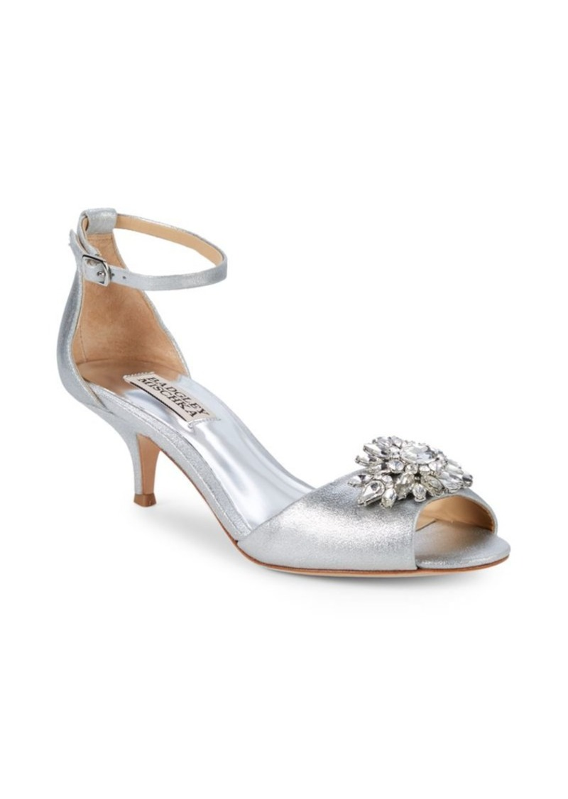 Badgley Mischka Sainte Embellished Sandals