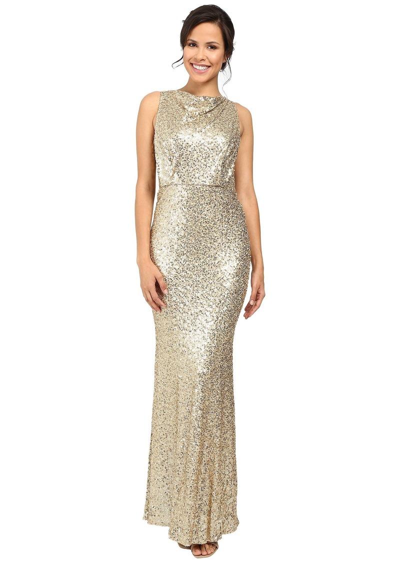 Badgley Mischka Sequin Blouson Gown | Dresses