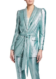 Badgley Mischka Sequin Jacket