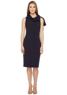 Badgley Mischka Shawl Collar Day/Occasion Dress