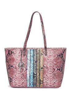 Badgley Mischka Snake Print Tote Bag