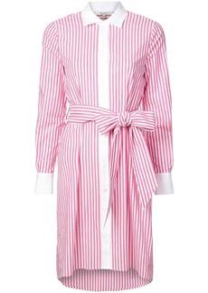 Badgley Mischka striped shirt dress