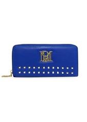 Badgley Mischka Studded Zip-Around Wallet