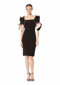 Badgley Mischka Two-Tone Origami