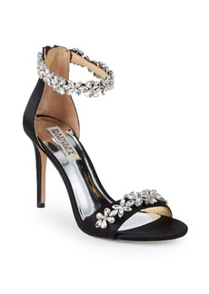 Badgley Mischka Valentine Embellished Sandals