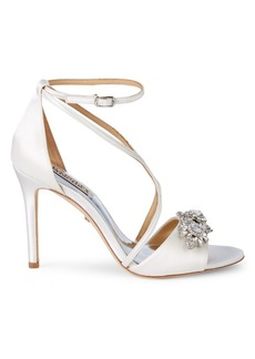 Badgley Mischka Vanessa Embellished Sandals