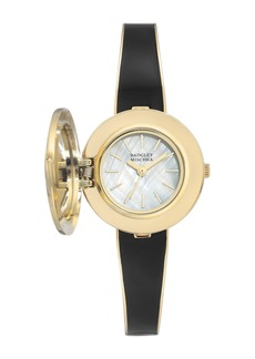 Badgley Mischka Women's Swarovski Crystal Accented Quartz Watch, 28mm