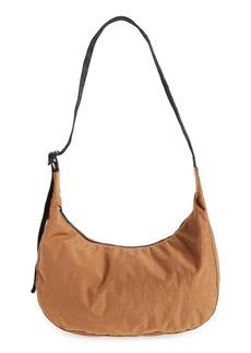 Baggu Medium Crescent Nylon Canvas Shoulder Bag