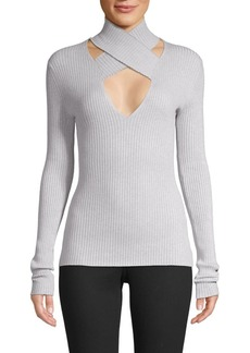 Bailey 44 All In Wrap Cut-Out Sweater