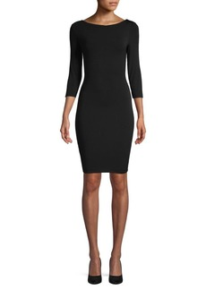 Bailey 44 Back Lace-Up Bodycon Dress