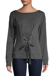 Bailey 44 Anthra Fleece Sweater