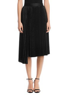 Bailey 44 Asymmetric Pleated Skirt