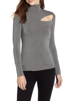 Bailey 44 Audrey Cutout Turtleneck Top