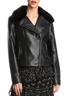 Bailey 44 Audrey Faux Leather Moto Jacket