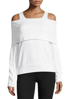 Bailey 44 Authoritative Cold-Shoulder Top