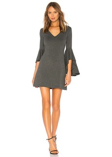 Bailey 44 Avalanche Bell Sleeve Ponte Dress