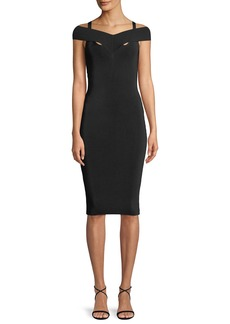 Bailey 44 Babies Breath Sleeveless Body-con Cocktail Dress