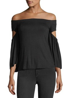 Bailey 44 Bell Of The Ball Off-the-Shoulder Top
