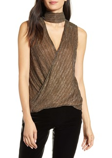 Bailey 44 Blair Crossover Metallic Chocker Top