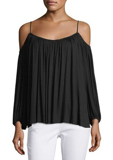 Bailey 44 Boho Cold-Shoulder Top