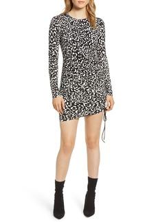 Bailey 44 Boogie Wonderland Leopard Print Minidress