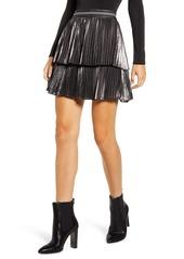 Bailey 44 Colby Pleated Miniskirt