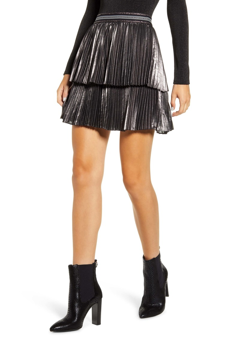Bailey 44 Colby Pleated Miniskirt