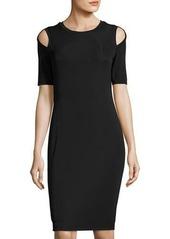 Bailey 44 Cold-Shoulder Knit Dress