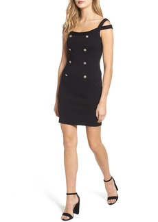 Bailey 44 Commissar Ponte Body-Con Dress