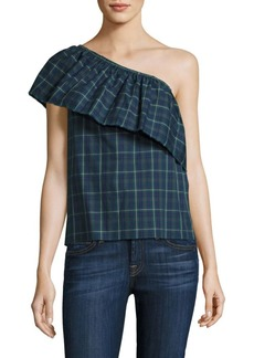 Bailey 44 Cotton Banzai Plaid Top