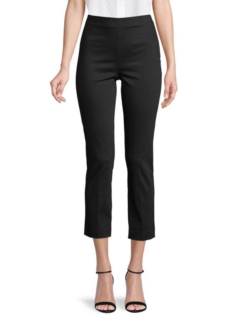 Bailey 44 Cotton-Blend Cropped Pants