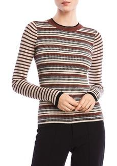Bailey 44 Courtney Metallic Striped Sweater