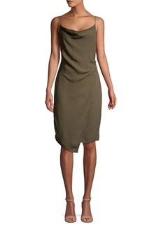 Bailey 44 Cowlneck Sheath Dress
