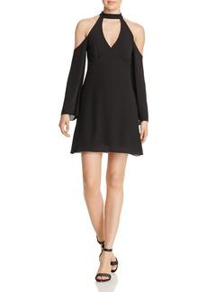 Bailey 44 Daikon Cutout Cold-Shoulder Dress