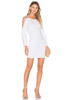 Bailey 44 Daiquiri Sweater Dress in White. - size L (also in M,S)