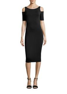 Bailey 44 Deneuve Cold-Shoulder Dress