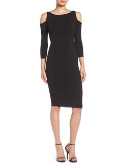 Bailey 44 'Deneuve' Cold Shoulder Jersey Body-Con Dress