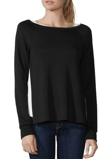 Bailey 44 Double Down Layered-Look Fleece Top