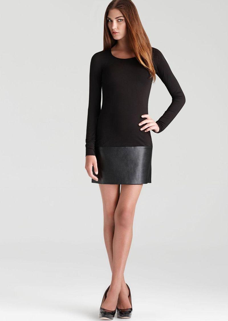 Bailey 44 Dress - Lorax Faux Leather