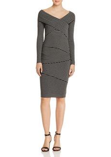 Bailey 44 Edamame Tiered Striped Dress