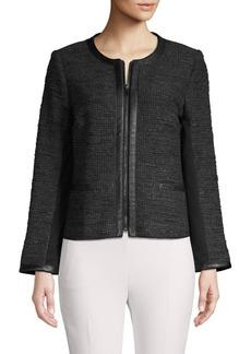 Bailey 44 Edith Tweed Zip-Front Jacket