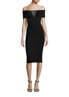 Bailey 44 Esther Heavy Jersey Off-the-Shoulder Dress
