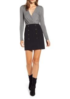Bailey 44 Evie Long Sleeve Minidress